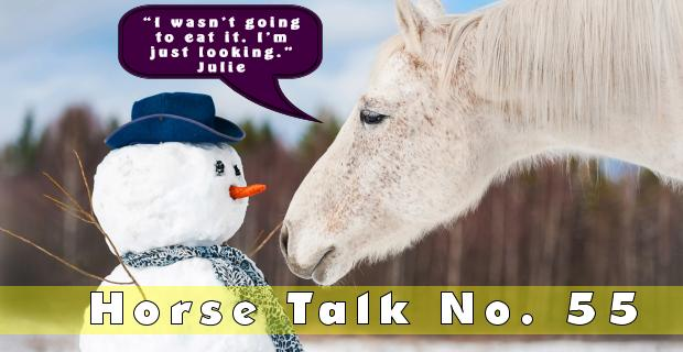 Horse Talk 55 Answer